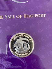 More details for pobjoy mint the queen's beasts the yale of beaufort 2021 bi-metal £2 3rd coin.