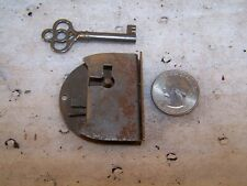 Vintage Hardware: Eagle Small Drawer Lock with Original Key:1 Lock/Key per order
