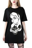 Ouija Alice Rebel Tattoo T Shirt Gothic Occult Alternative Clothing