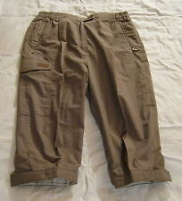 Pantalones cargo, sunway, talla 21, gris, los diferentes materiales: 65% poliéster, 35% algodón