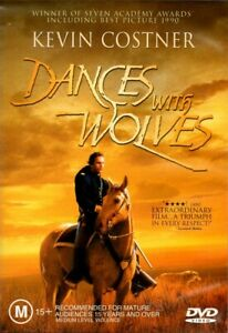 DANCES WITH WOLVES New Dvd KEVIN COSTNER ***