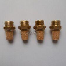 4PCS Pneumatic Muffler Filter Sintered Bronze 1/4