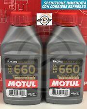 Olio Motul RBF 660 Factory Line DOT 4 Racing per Freni e Frizioni - 2 X 500 ML