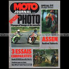 MOTO JOURNAL 611 ★ HONDA CBR 1100 & MARTIN 1135 ★ MBX 80, YAMAHA 80 RDLC 1983