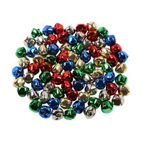 jingle bells christmas 15mm metal charms 40 Red Green Gold Silver And Blue