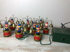 1991 Mr. Christmas Santa's Marching Band Soldiers  35 Song FOR PARTS OR REPAIR