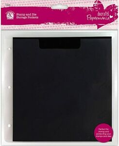 Papermania Stamp & Die Refill Storage Pockets with Magnetic Shim (10pk)