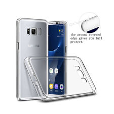Samsung Galaxy S8  Soft TPU Shockproof Bumper Clear Back Case Cover
