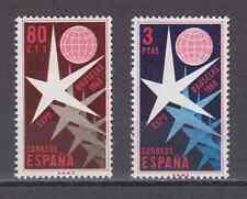 ESPAÑA (1958) NUEVO MNH SPAIN - SC SCOTT 877/78 EXPOSICIÓN BRUSELAS