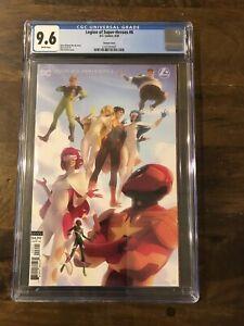 Legion Of Super Heroes 6 CGC 9.6 Variant 1st Gold Lantern