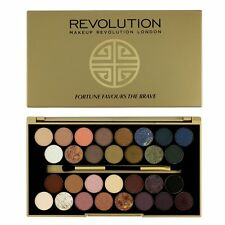 Makeup Revolution Eyeshadow Fortune Favours The Brave with British beautyblogger