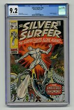 Silver Surfer #18 - CGC 9.2 - Stan Lee Jack Kirby Herb Trimpe - Last Issue