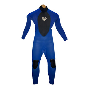 Roxy Girls Full Wetsuit Childs Youth Size 12 Blue 3/2