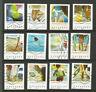 France 2019 vacances série de 12 timbres oblitérés /TR5211