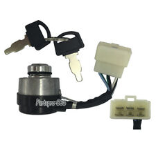 6-Wire Generator Ignition Key Switch for 188F 190F 407CC 414CC 420CC 14-15-16HP