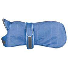 Trixie Wintermantel Belfort für Hunde, blau Größe M (50cm)