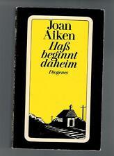 Joan Aiken - Haß beginnt daheim - 1988
