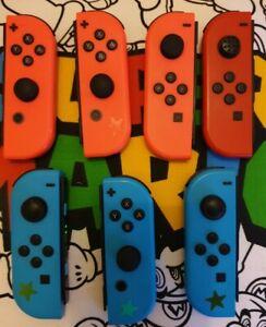 👀Genuine Nintendo Switch Joy Cons job lot  x7 spares or repair 👀