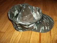 Cuban grey-lizard camouflage pattern cap stationed in Angola