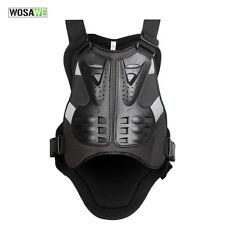 New Motorcycle Bike Back Protector Body Armor Racing Vest Black
