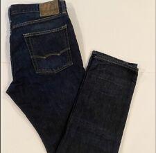 American Eagle Dark Blue Men's Button Fly Jeans