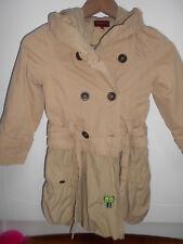 CATIMINI trench 2 en 1 manteau/veste à capuche/imper T 6 ans