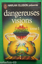 DANGEREUSES VISIONS T1 HARLAN ELLISON N626 J'AI LU SCIENCE FICTION