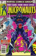 Micronauts 4 1st Series Marvel 1979 NM- Michael Golden