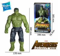 12' Marvel Avengers Infinity War Incredible Hulk Power FX Port Action Figure Toy
