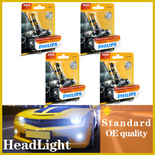9005B1+9006B1 Philips 4PCS Headlight Light Bulbs Hi/lo Beam For 1995 Audi A6