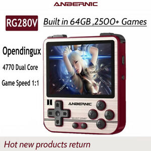 AnbernicR G280V Handheld Retro Video Game Console 5000 Games 2.8Inch IPS Screen