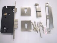 Mortise locks square escutcheon with single cylinder