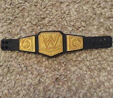 WWE Wrestling World Heavyweight Championship Title Figure Belt Accessories