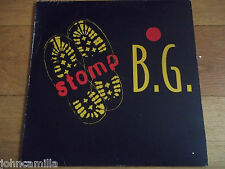 "B.G. THE PRINCE OF RAP - STOMP - 12"" RECORD / VINYL - EPIC - 663251 6"