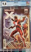 Major X #1 CGC 9.8 Graded Rob Liefeld First appearance of Major X.