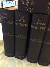 THE JEWISH ENCYCPEDIA 1916 -11VOLUMES - VERY GOOD CONDITION.