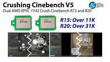 ES AMD EPYC 7742 100-000000053 64 Core 2.25GHz (3.4GHz Boost) Server Processor