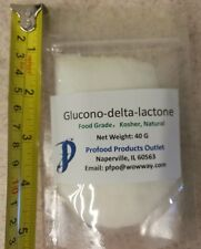 Glucono-Delta-Lactone 40g (~1.3 oz), food grade,  Homemade Tofu like Pro