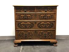 Century Furniture Grand Rapids Chippendale Inlaid Walnut 2 over 3 Chest