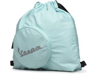 Vespa Official Zaino Sacca spiaggia palestra sport-Cloud Azzurro 48 X 48 X 10 cm