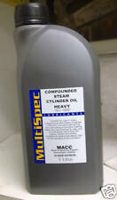 1 litre of steam oil. Live steam cylinder oil