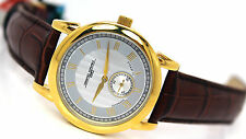 NEW JORG GRAY JG7300-12 AUTOMATIC GOLD TONE WATCH