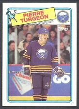 1988 89 TOPSS 194 PIERRE TURGEON SABRES RC ROOKIE NM