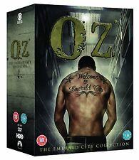 OZ COMPLETE SERIES DVD BOXSET 21 DISC NEW REGION 4  PRISON SERIES