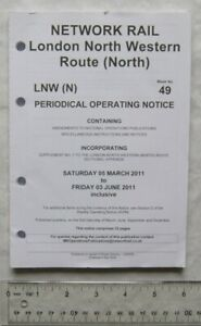 2011 Network Rail, London North Western route (North) Week 49 Periodical