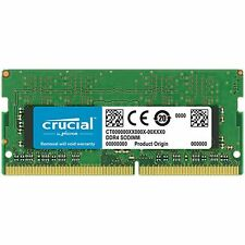 Crucial 4 8GB 16GB 32GB DDR4 SO-DIMM RAM 260pin 2666MHz CL19 1.2V Single Ranked