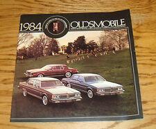Original 1984 Oldsmobile Delta 88 Ninety Eight Toronado Cruiser Sales Brochure