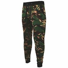 MENS SLIM CAMOUFLAGE JOGGING BOTTOMS GYM SKINNY FIT JOGGERS STRETCHY TROUSERS