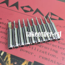 10 x Solder Iron Tip 2.4D I 3C 1C 2C K B for Atten Quick Lukey Aoyue 939D i803