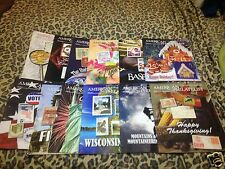 American Philatelist 2013 Full Year 12 Mags Great Info On Scott Hobby